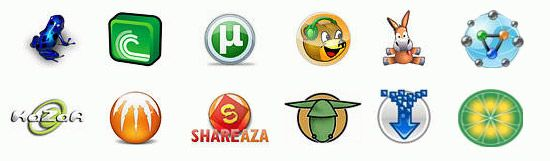 filesharing-graphics icons