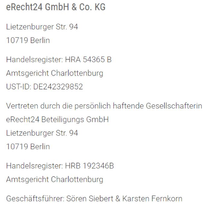 Geschäftliche E Mails Signatur Impressum Und Dsgvo
