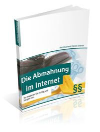 Cover E-Book Abmahnung Internet