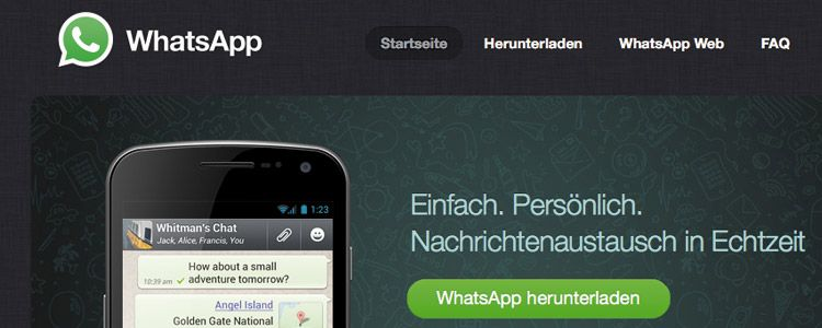 whatsapp herunterladen dauert lange